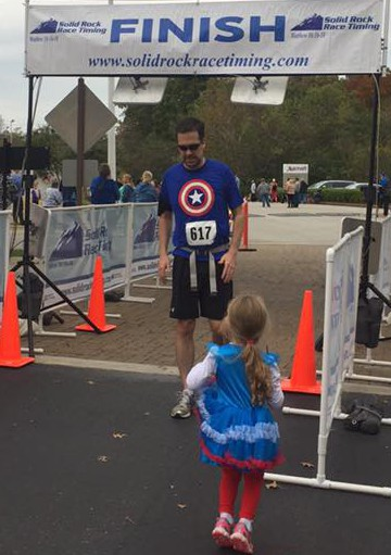 Despite an injury, Jack crosses the finish line for #TeamConnorJ